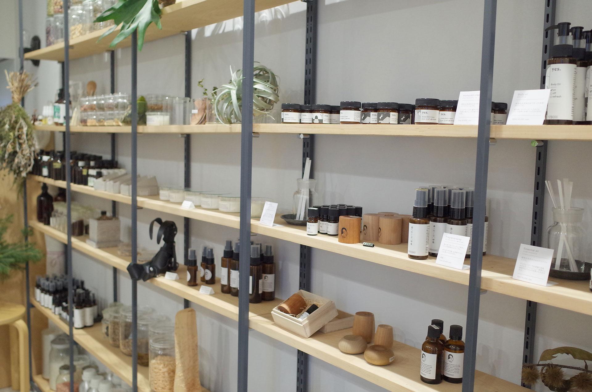 アロマと出会える『fragrance yes』の新店舗が六本木に誕生